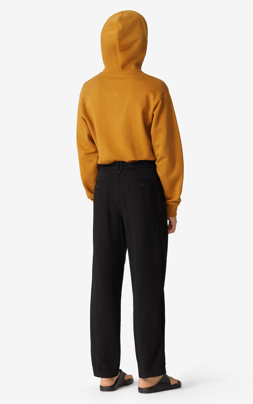 BLACK Chino trousers for women KENZO