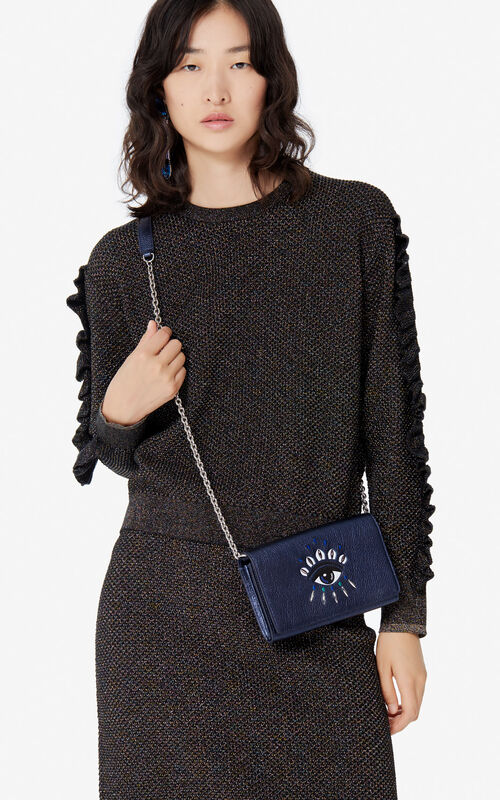 NAVY BLUE 'Holiday Capsule' 2-in-1 Kontact Eye wallet  for women KENZO
