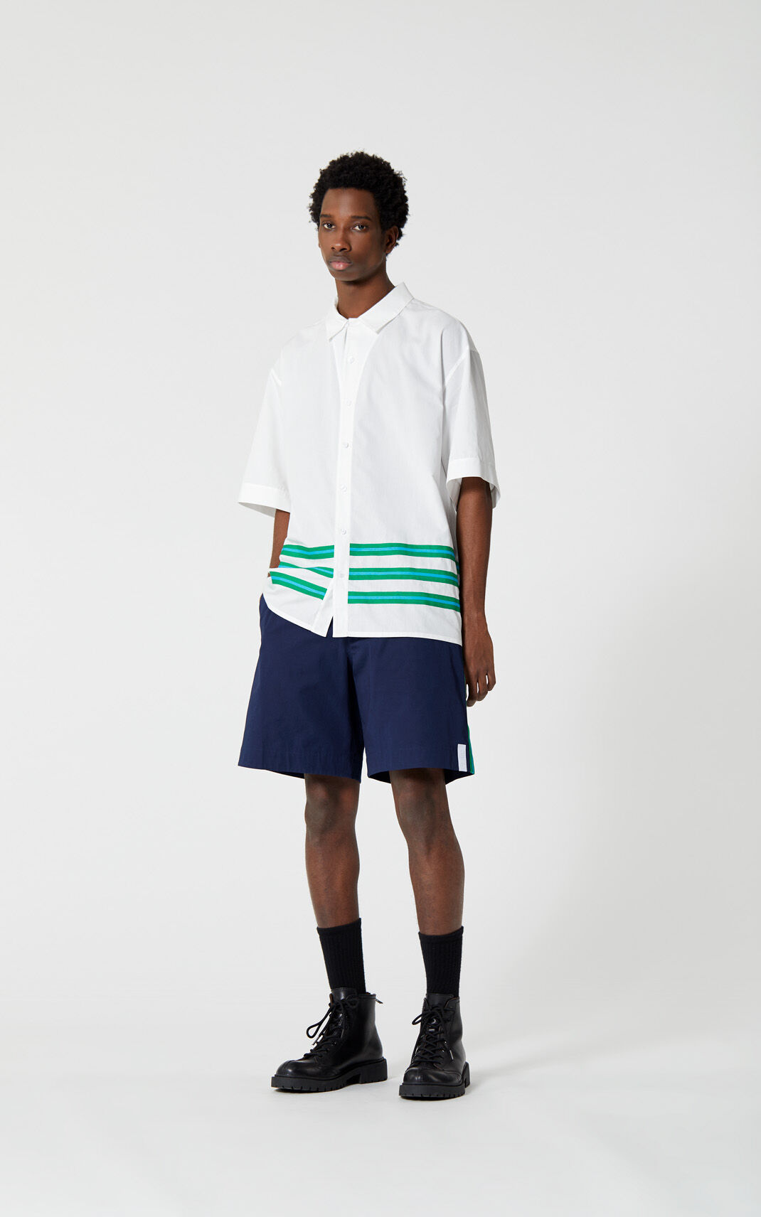 WHITE 'High Summer Capsule Collection' shirt for women KENZO