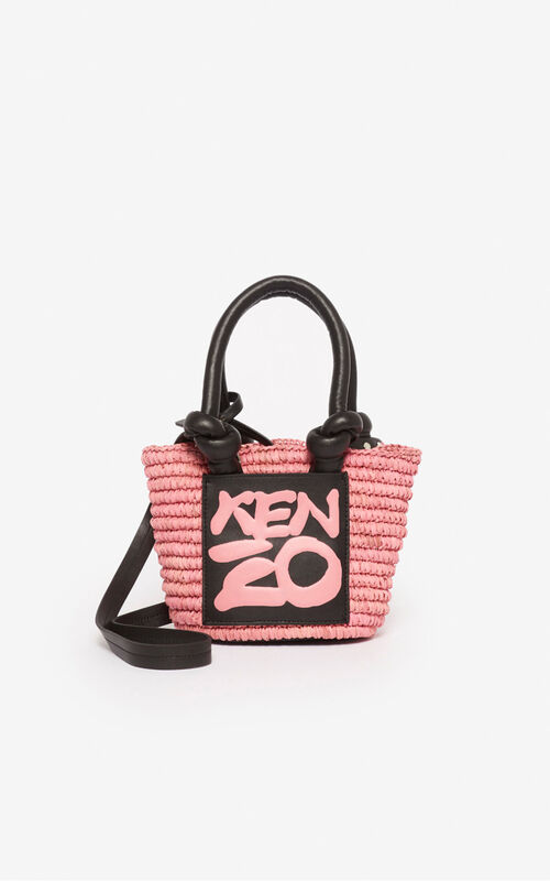 FADED PINK Petit panier Kopakabana for unisex KENZO