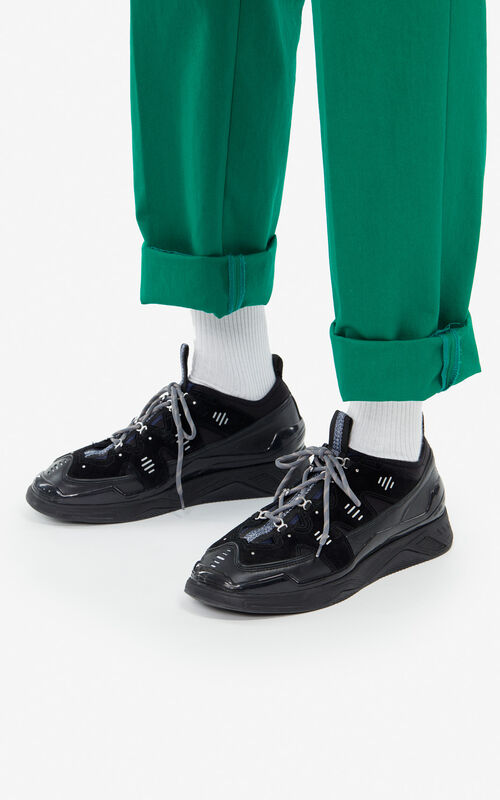 BLACK Klimb sneakers for men KENZO
