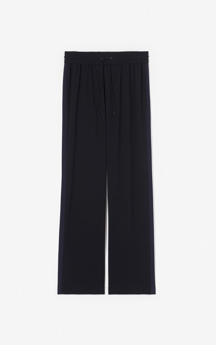BLACK Loose-fit trousers for women KENZO