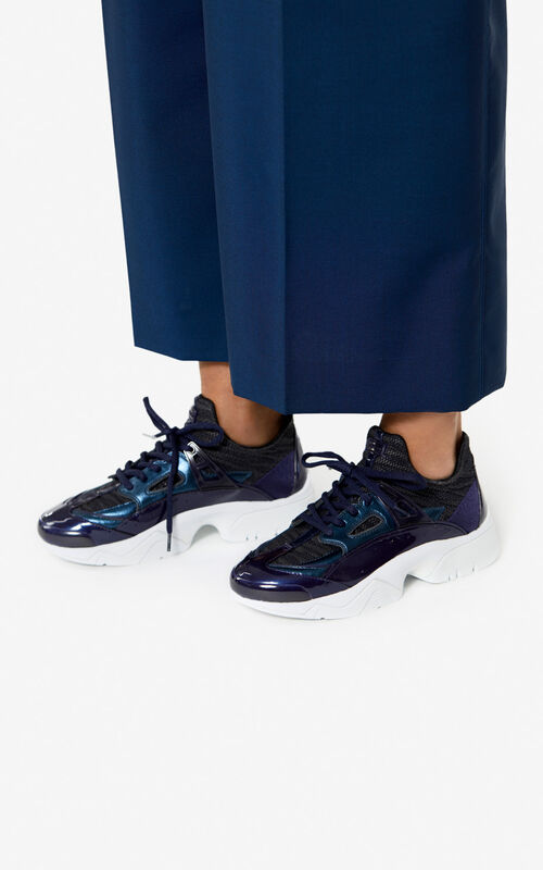 NAVY BLUE Sonic sneakers  'Holiday Capsule' for women KENZO