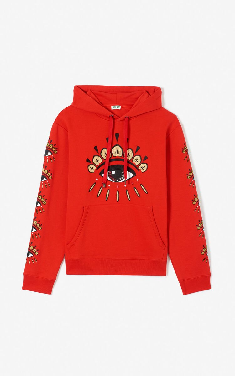 VERMILLION Multi Eye hoodie 'Exclusive Capsule' for women KENZO
