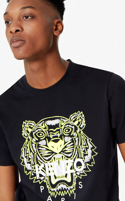 113e5d19 BLACK Tiger T-shirt 'High Summer Capsule collection' for men KENZO ...