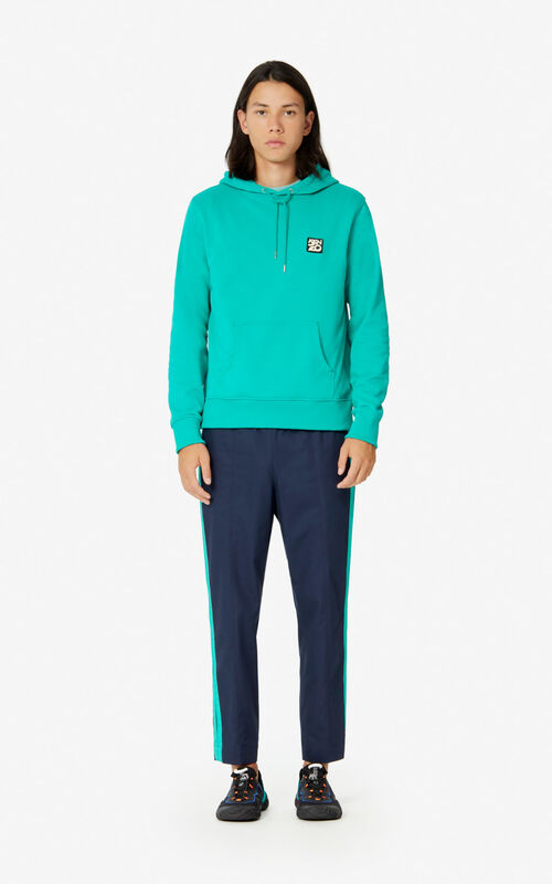 MINT Hooded 'Ama Diver' sweatshirt for men KENZO