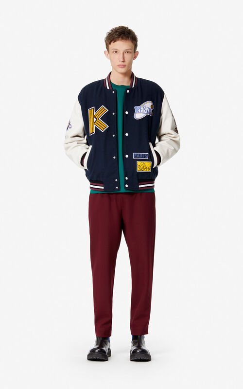 BORDEAUX Tapered trousers for women KENZO