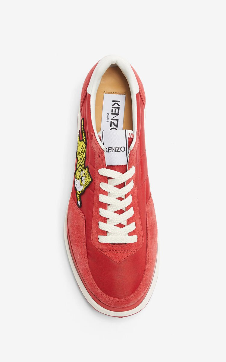 MEDIUM RED KENZO MOVE platform sneakers for women