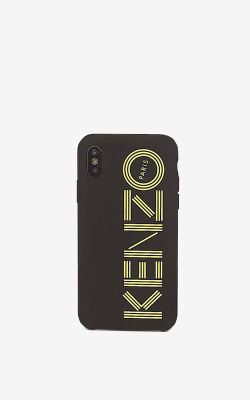 GOLDEN YELLOW iPhone X/XS Case for unisex KENZO