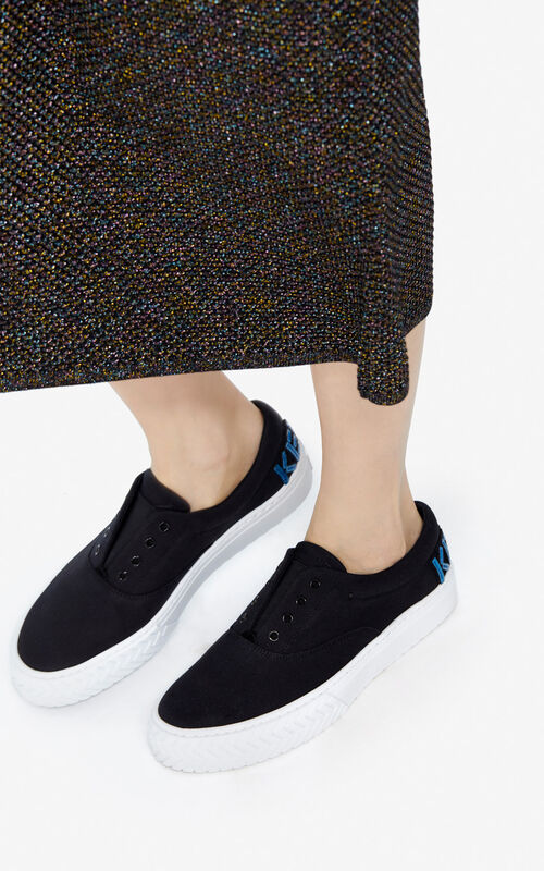 BLACK 'Holiday Capsule' K-Skate sneakers for women KENZO