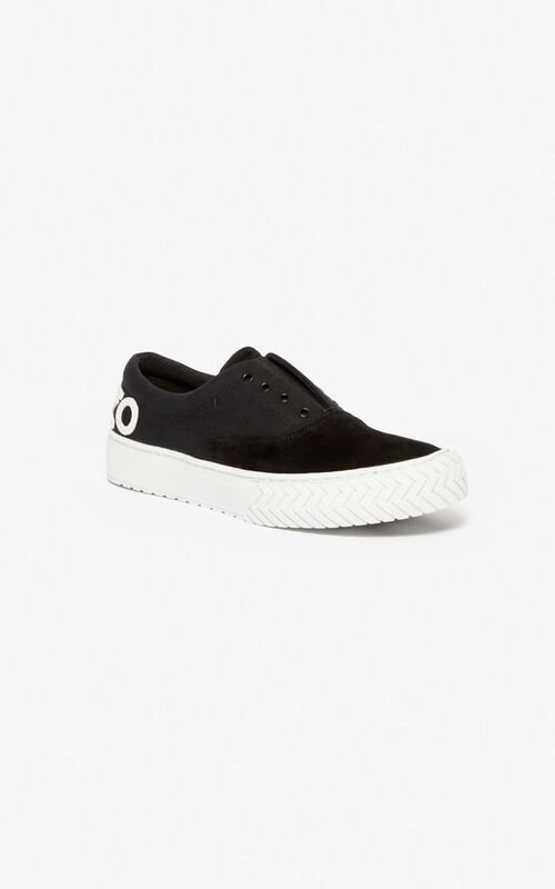 BLACK K-Skate sneakers for women KENZO