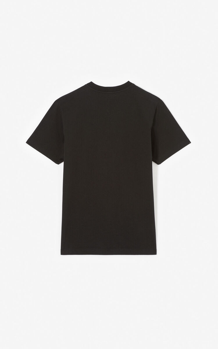 BLACK 'Tiger Square' t-shirt for men KENZO