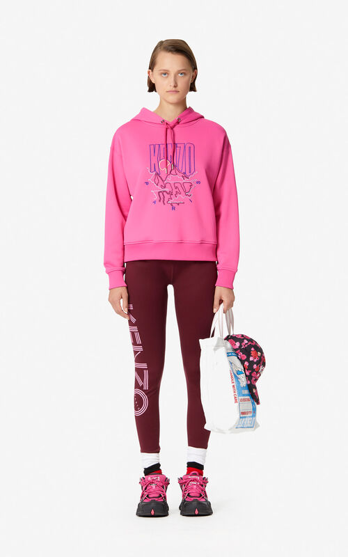 BEGONIA 'KENZO Mountain' hooded sweatshirt for women