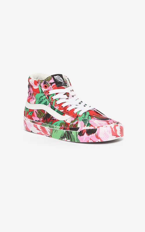 MEDIUM RED SK8-Hi 'Tulipes' KENZO/VANS sneakers  for women
