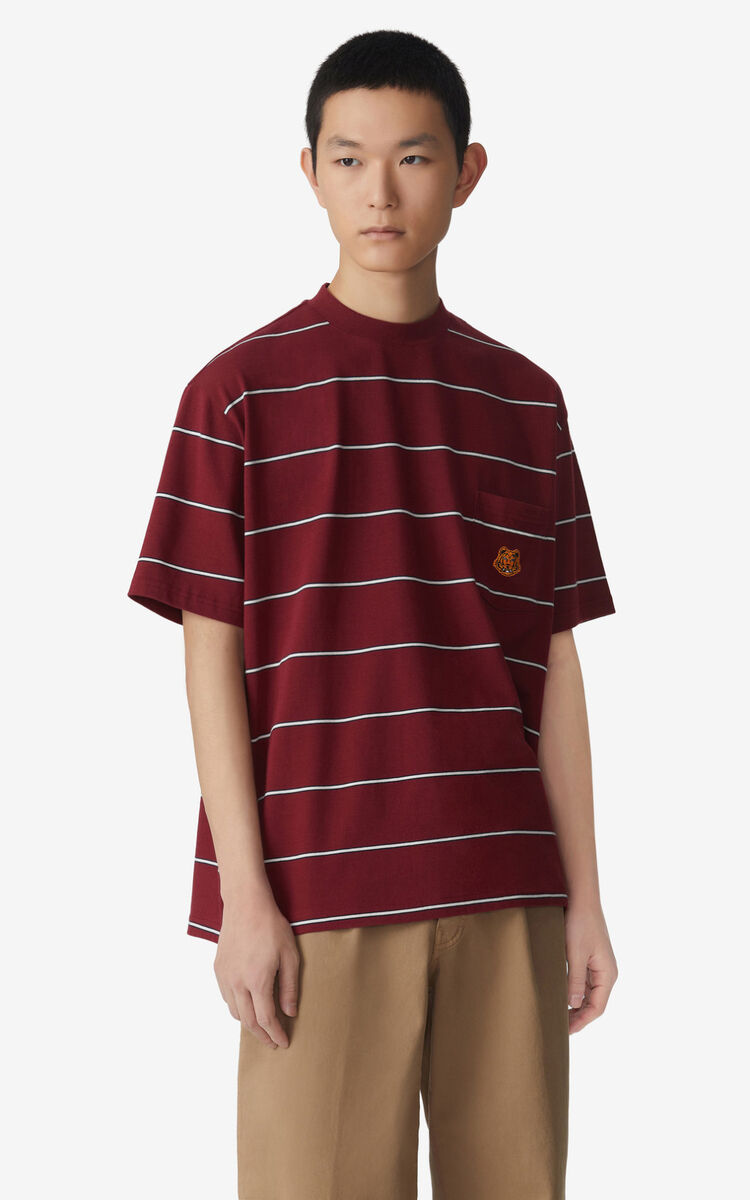 CARMINE Striped oversize T-shirt for men KENZO