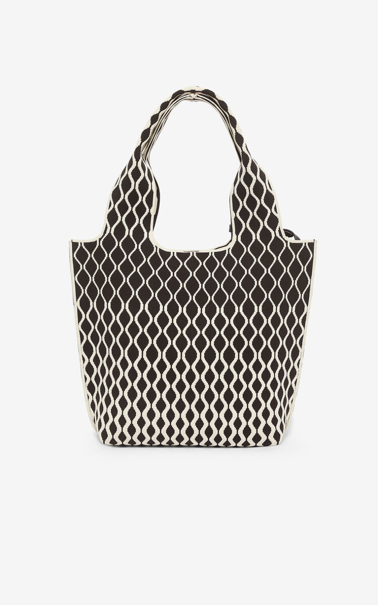 BLACK Small Skuba tote bag for unisex KENZO