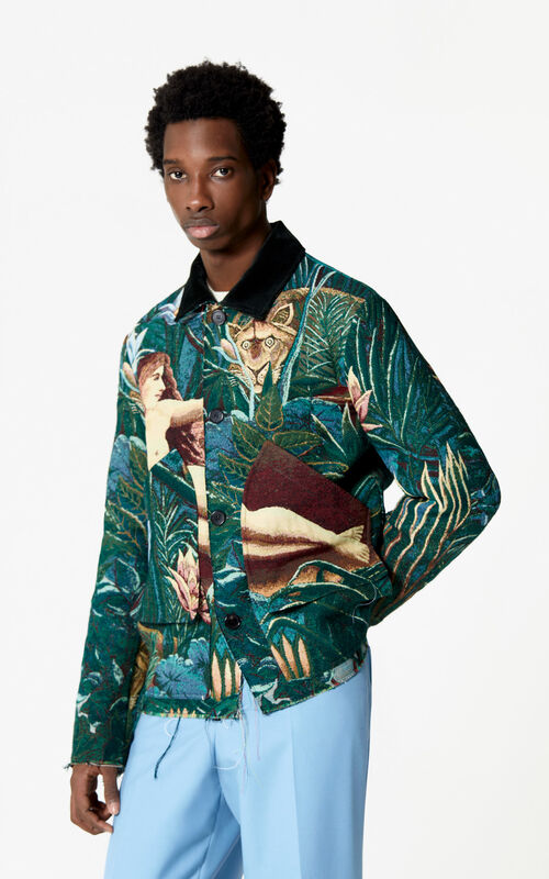 PINE Jacquard jacket for men KENZO