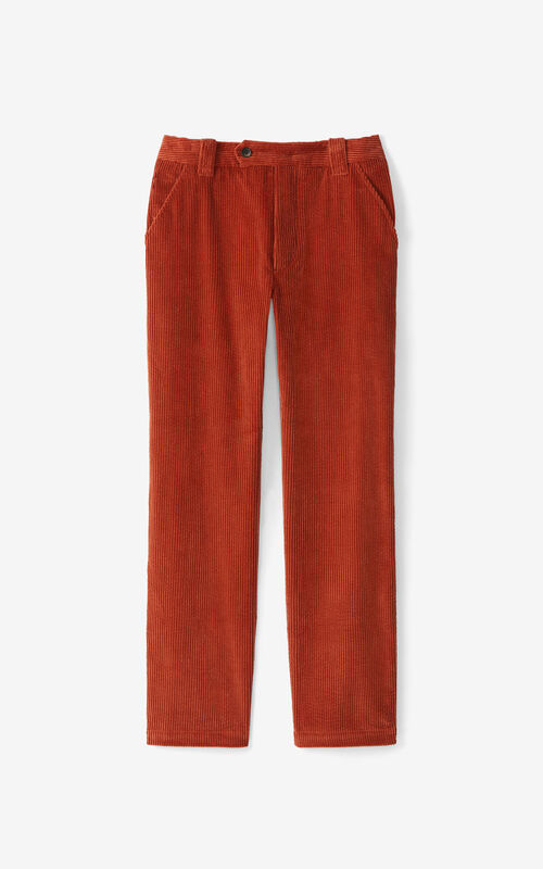 COGNAC Cropped trousers for unisex KENZO