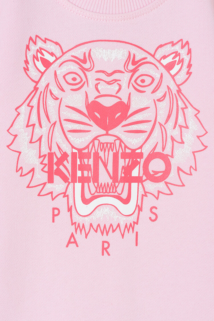 FADED PINK Tiger Stripes Babygrow for women KENZO