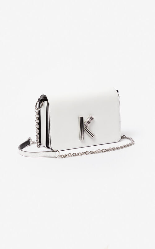 WHITE K-Bag Chainy bag for unisex KENZO