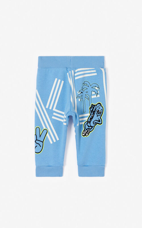 BLUE 'Cali Party' Joggers for women KENZO