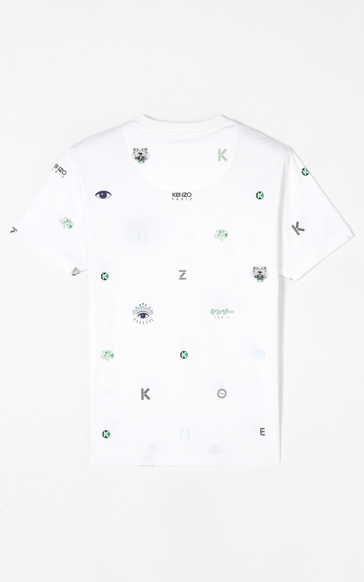 1556ac9a Multi-icon T-shirt for MEN Kenzo | Kenzo.com