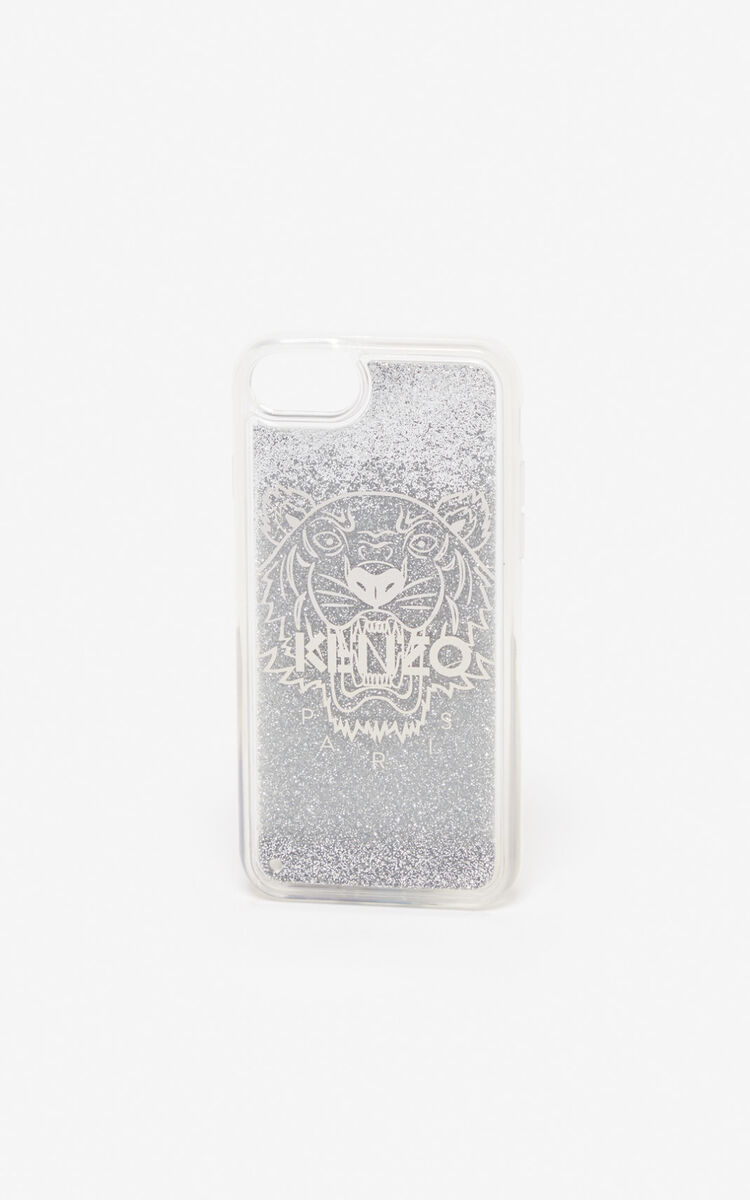 SILVER iPhone 8 Case for unisex KENZO