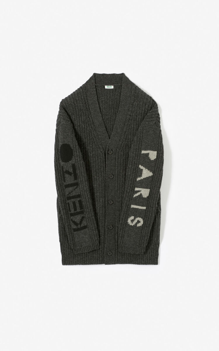 ANTHRACITE KENZO cardigan for women