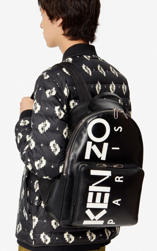 BLACK Kontrast backpack for women KENZO