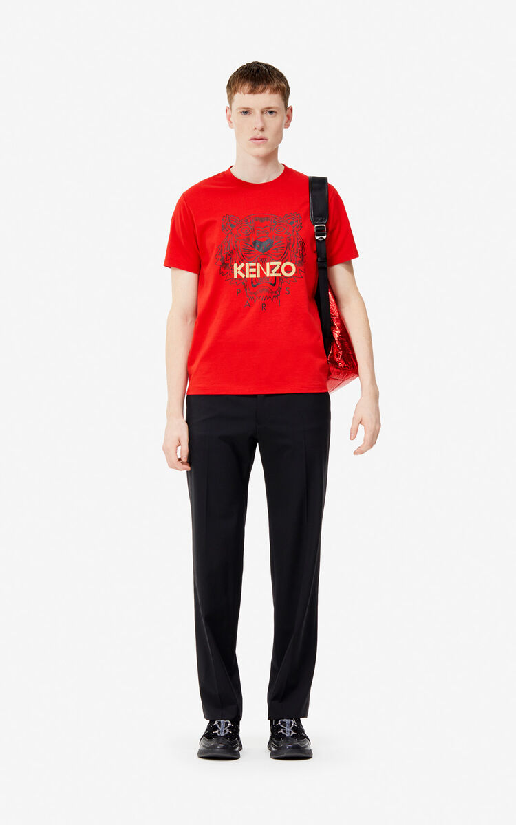 VERMILLION Tiger t-shirt 'Exclusive Capsule' for women KENZO