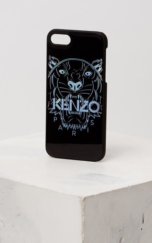 SILVER 3D Tiger iPhone 7+/8+ case for unisex KENZO