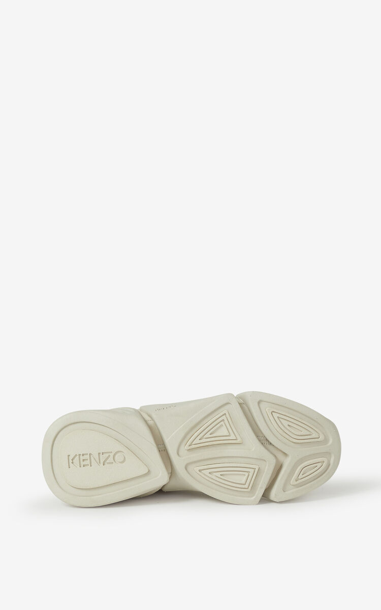 ECRU Kross leather sneakers for unisex KENZO