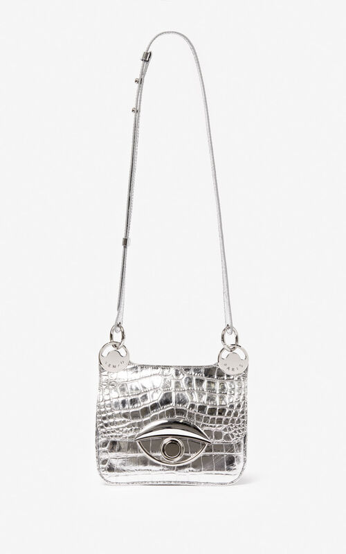 SILVER Mini TALI crossbody bag for unisex KENZO
