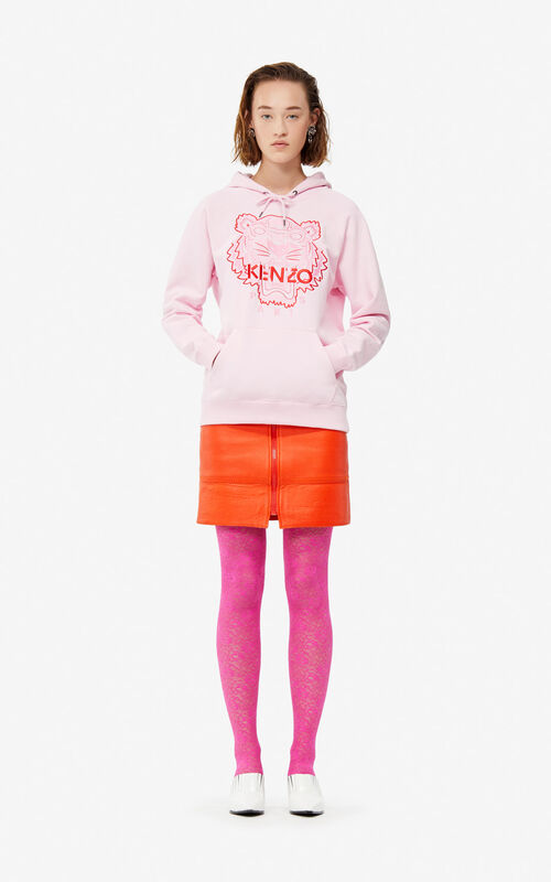 Two-tone Tiger hoodie for women KENZO