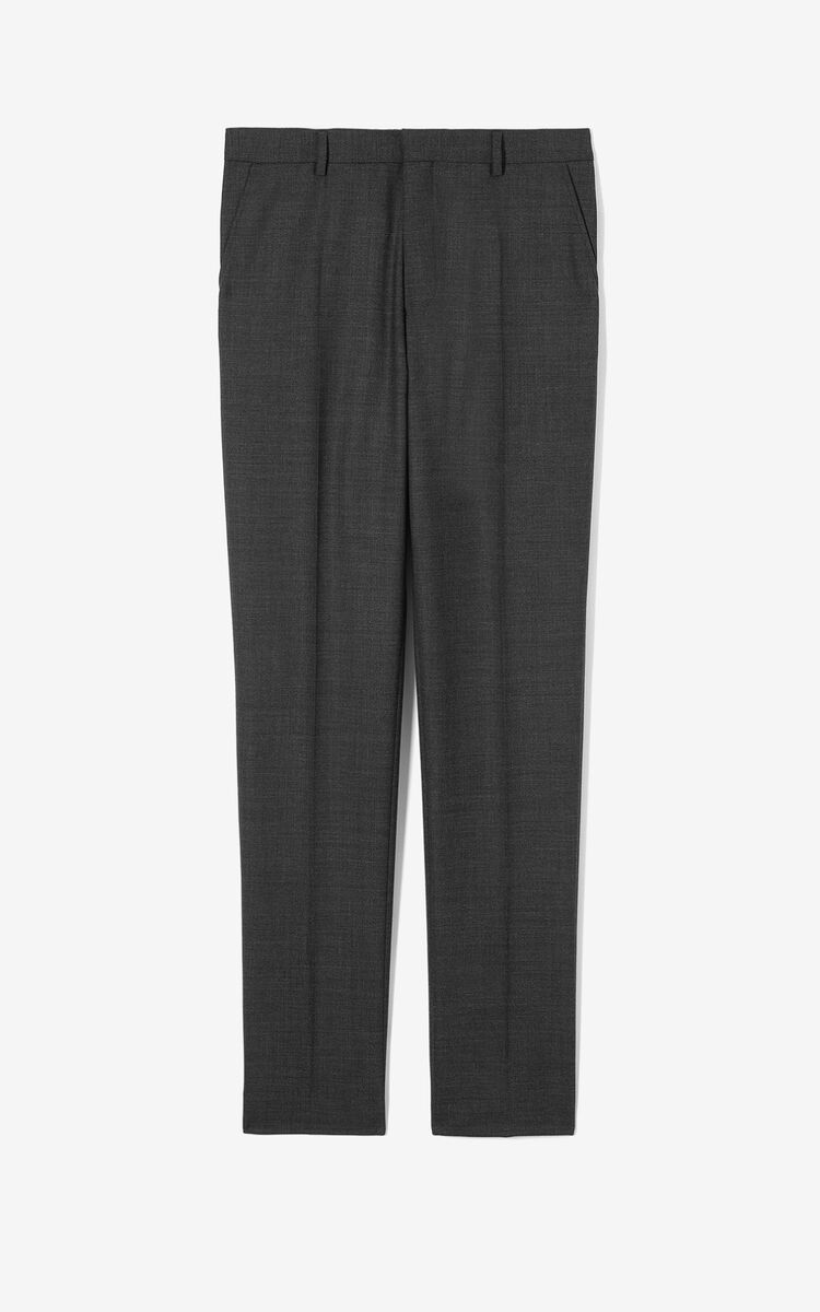 ANTHRACITE Suit trousers for men KENZO
