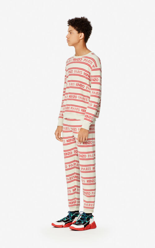 OFF WHITE KENZO Paris trousers for women