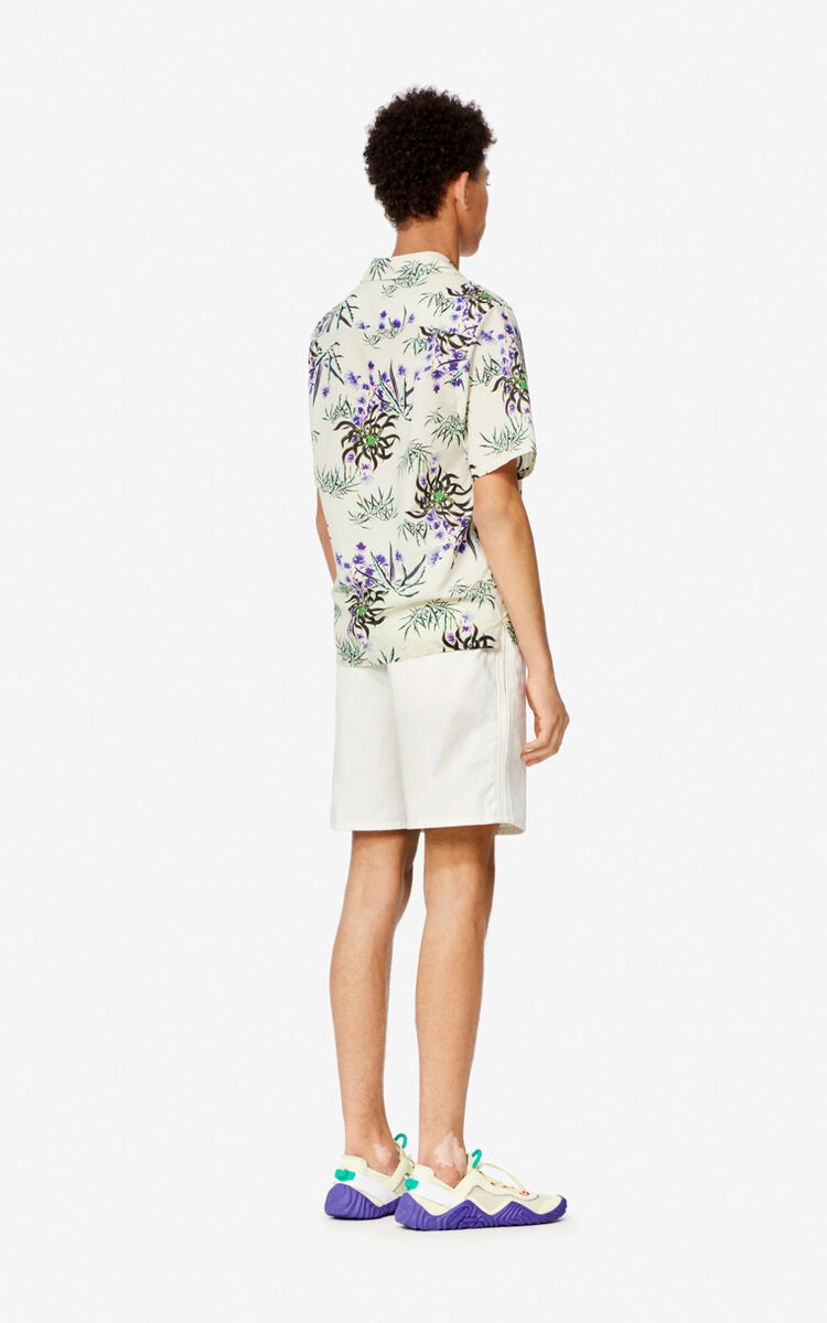 OFF WHITE Belted shorts for men KENZO