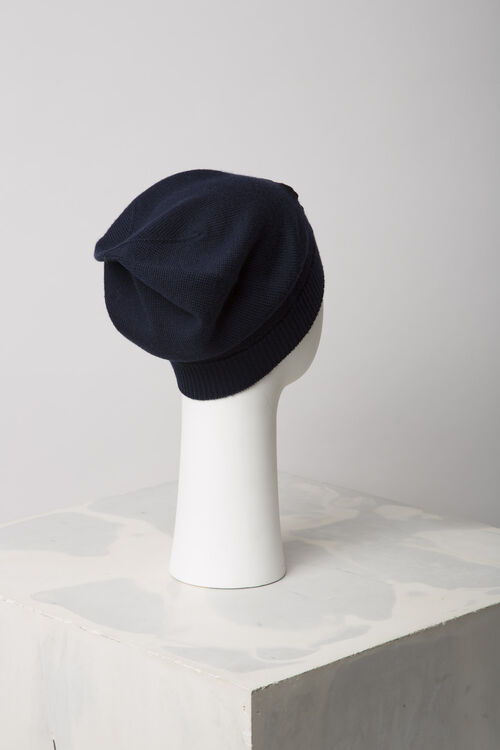 NAVY BLUE 'Tiger Face' hat for unisex KENZO