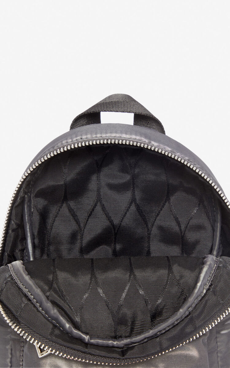 ANTHRACITE Mini Tiger 'Kampus' backpack for unisex KENZO