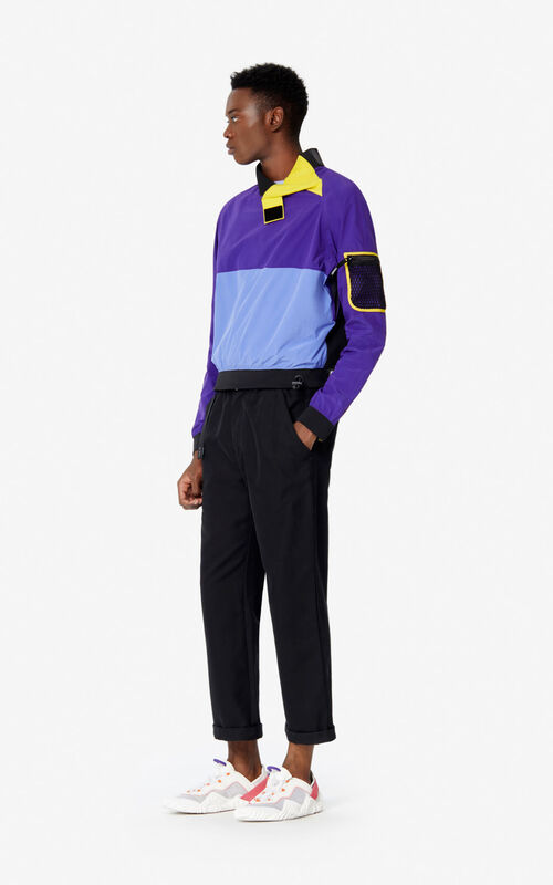 AUBERGINE Colourblock sweatshirt for men KENZO