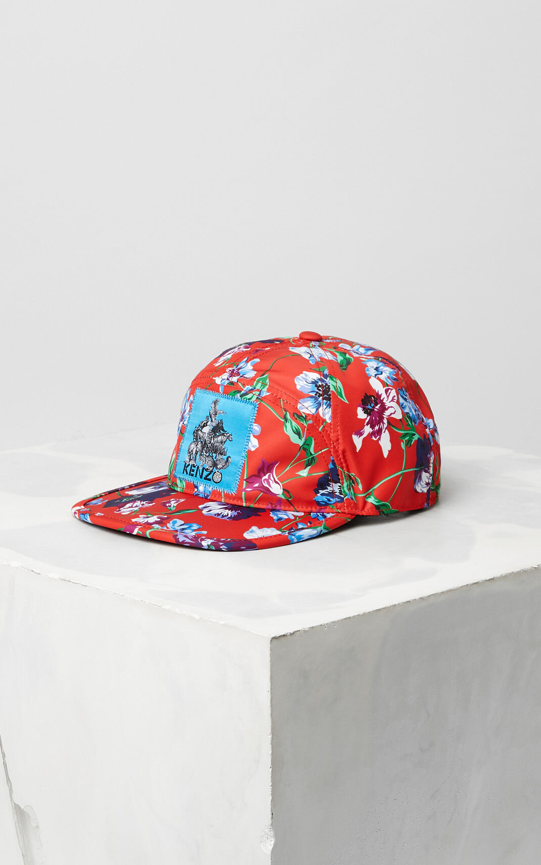 FIRE Wild Flowers' Nylon Cap for men KENZO