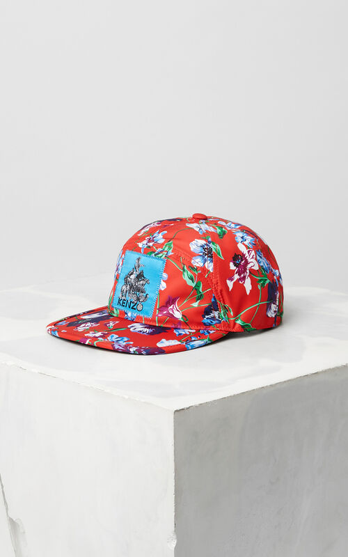 FIRE Wild Flowers' Nylon Cap for women KENZO