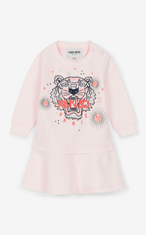 FADED PINK Tiger Dress for unisex KENZO