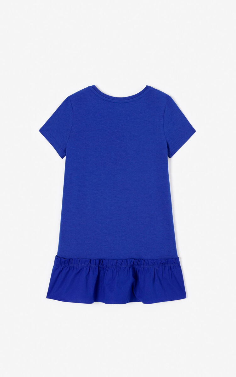 COBALT 'Phoenix Celebration' frilly dress. for women KENZO