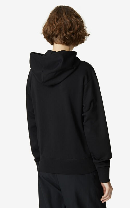 BLACK Tiger hoodie sweatshirt for women KENZO