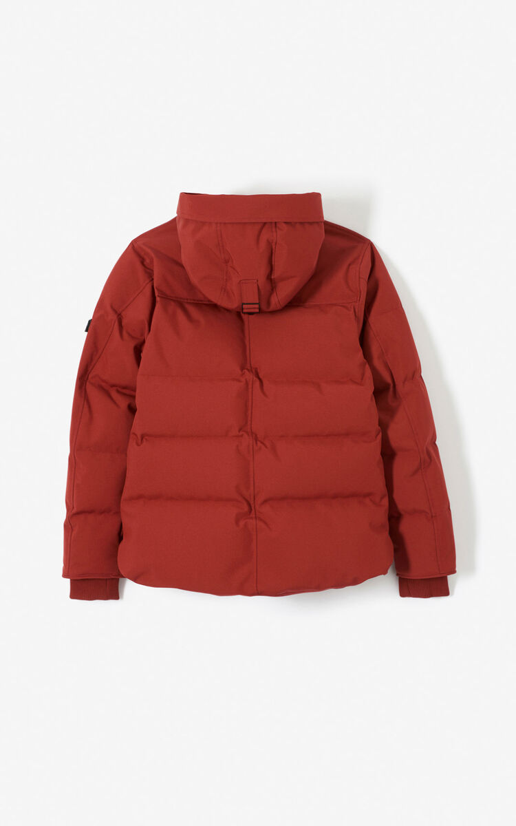 SUEDE Quilted puffer jacket for men KENZO