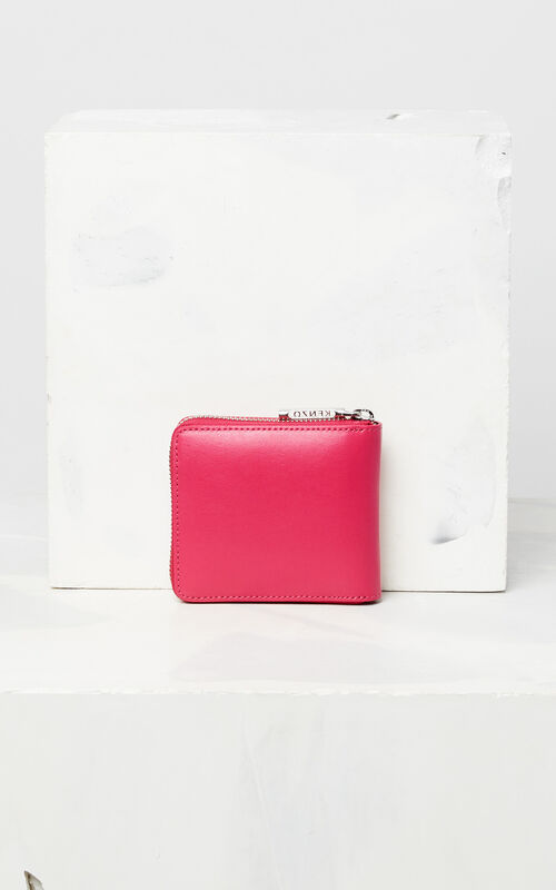 DEEP FUSCHIA Eye leather wallet for women KENZO