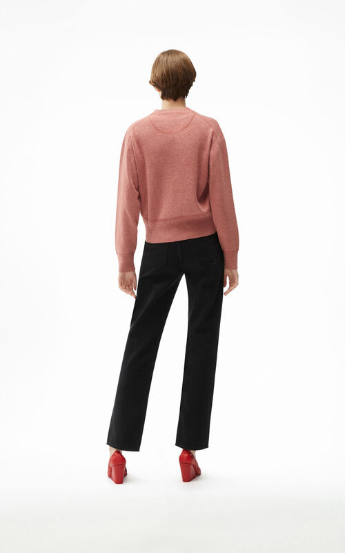 FADED PINK Tiger Crest cardigan for women KENZO