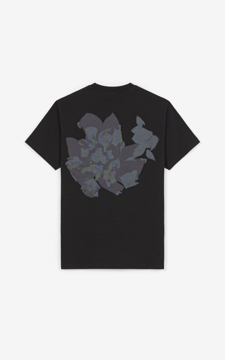 """BLACK """"Archive Floral"""" T-shirt for women KENZO"""