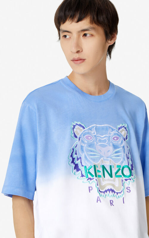 LAVENDER Tiger gradient t-shirt  for women KENZO